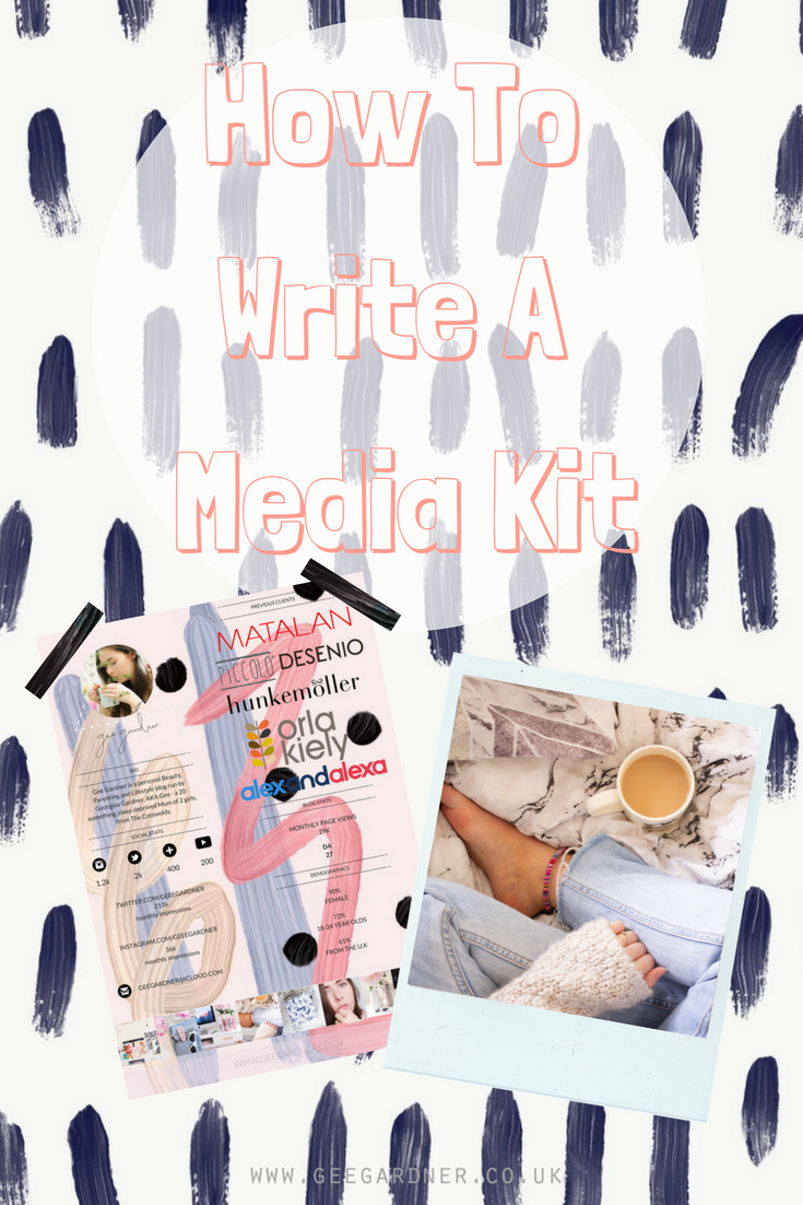 How To Write a Media Kit